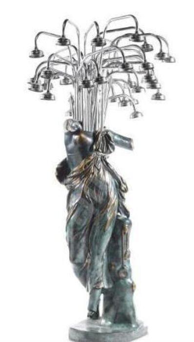 Arman (1928-2005), 'Cantando sotta la doccia ', 2003
