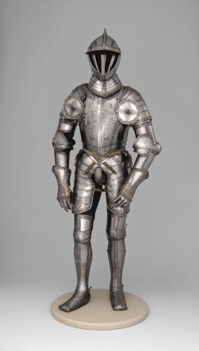 Kunz Lochner, 'Armor of Emperor Ferdinand I (1503–1564)', 1549