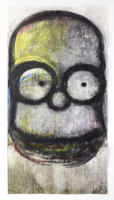 Joyce Pensato, 'Underground Homer', 2019