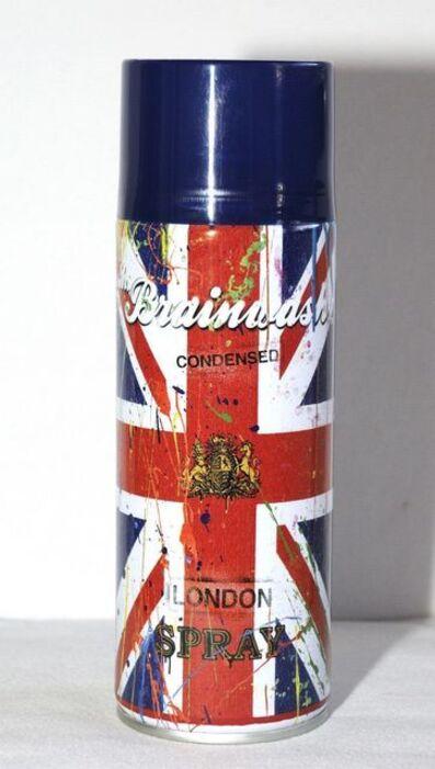 "Mr. Brainwash, 'MR BRAINWASH BRITISH SPRAY CAN ""LIFE IS BEAUTIFUL"" LONDON SOLO ART SHOW ', 2012"