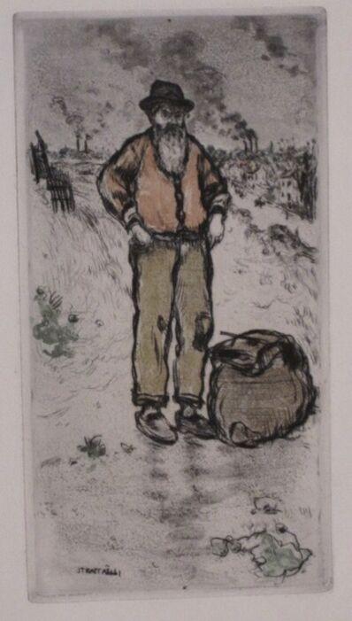 Jean François  Raffaëlli, 'Le chiffonnier / The Ragman', 1911