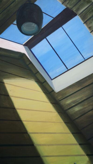"""Mantas Daujotas, '""""Avalon Sutra Windon In The Roof""""', 2016"""