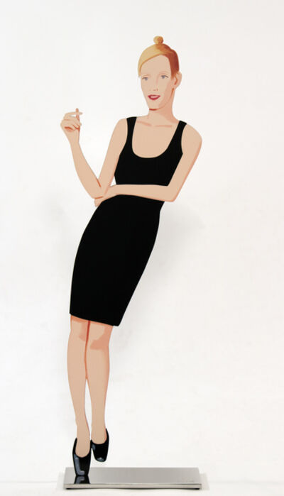 Alex Katz, 'Oona from Black Dress', 2017