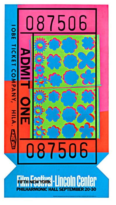 Andy Warhol, 'Lincoln Center Ticket (Feldman & Schellmann, II.19)', 1967