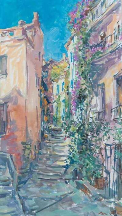 Sergei Chepik, 'Rue Fleurie a Collioure', 2004
