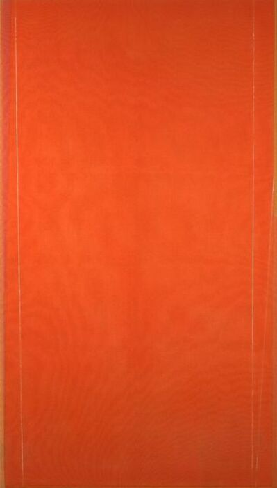 Larry Zox, 'Untitled (orange)', 1974