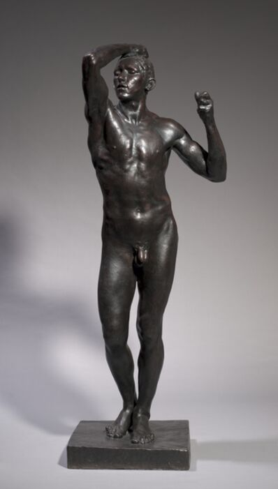Auguste Rodin, 'The Age of Bronze', 1875-1876