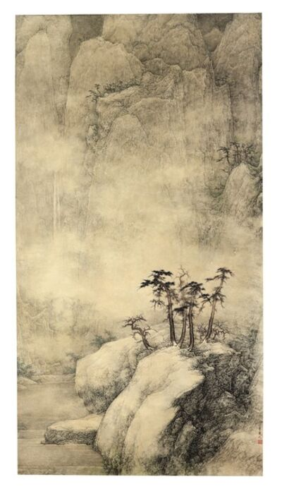 Li Huayi, 'Landscape in Snow'
