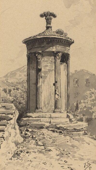 Themistocles von Eckenbrecher, 'Monument of Lysicrates', 1890