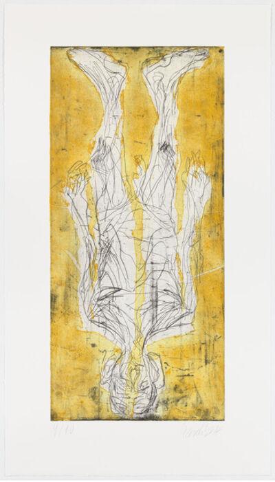 Georg Baselitz, 'Ohne Hose in Avignon IV', 2014