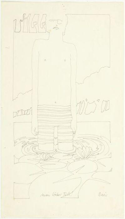 David Weiss, 'Portrait Till Kruse', Ca. 1969