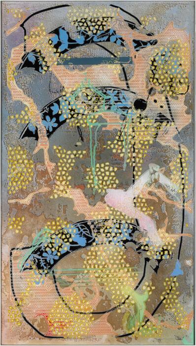 Darren Goins, '090cr (pollen_olympic_driver_meta-aramid), 2016', 2016