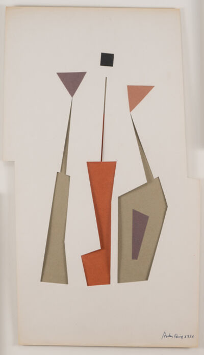 Carmelo Arden Quin, 'Decoupage-Collage', 1951