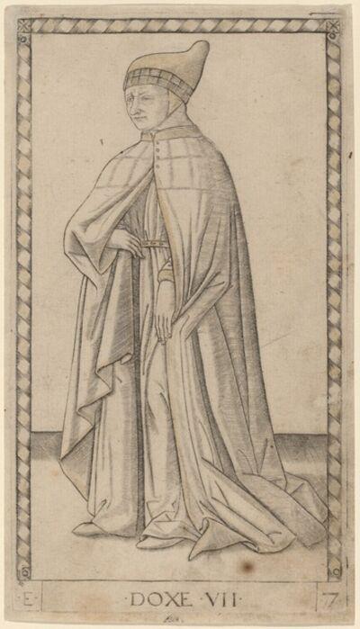 Master of the E-Series Tarocchi, 'Doxe (Doge)', ca. 1465