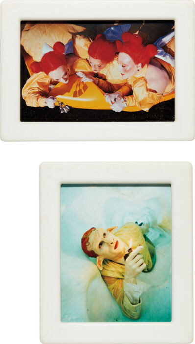 Matthew Barney, 'Cremaster 4: Field of the Ascending Faerie (Diptych)', 1994