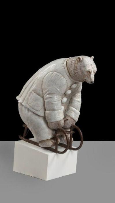 Bjorn Skaarup, 'Polar Bear Pierrot, maquette, ed. 2/9', 2019