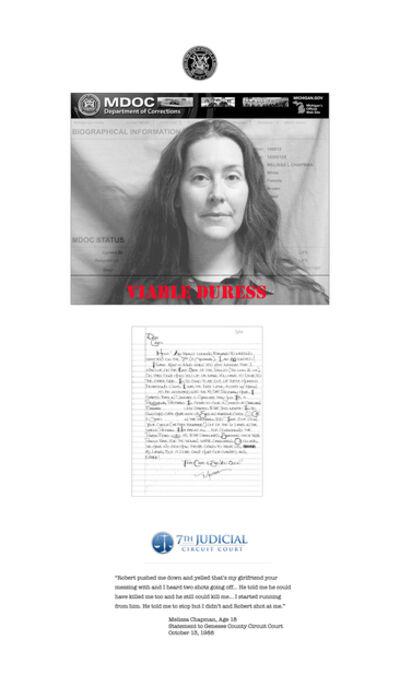 Carol Jacobsen, 'Letter of the Law: Melissa', 2019