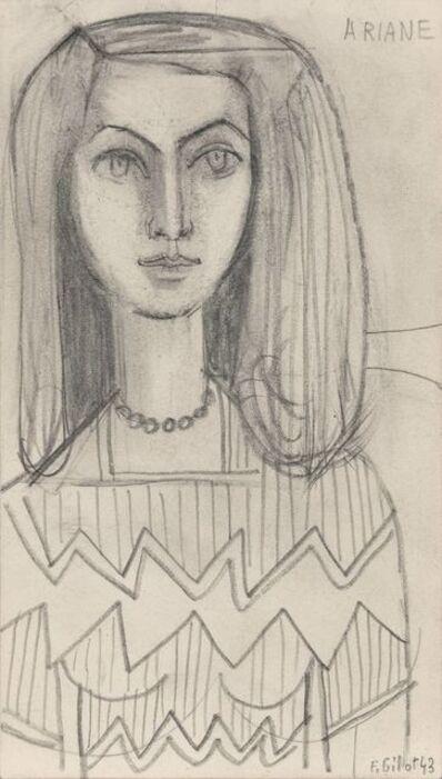 Françoise Gilot, 'Ariane (self portrait)', 1943