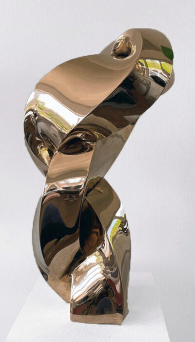Stephan Marienfeld, 'Twist - Bronze polished', 2020