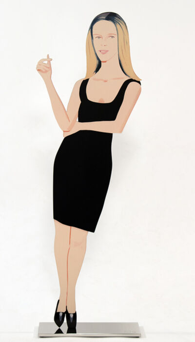 Alex Katz, 'Yvonne (Black Dress Cut-Out)', 2017