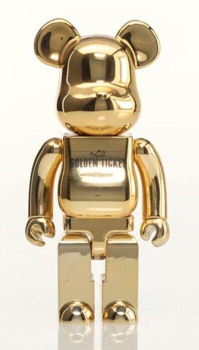 BE@RBRICK, 'Golden Ticket Be@rbrick 400%', 2005