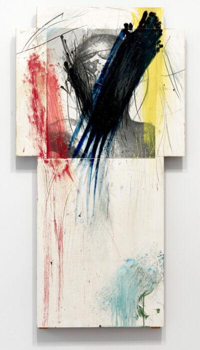 Arnulf Rainer, 'Cross (overpainting)', 1987