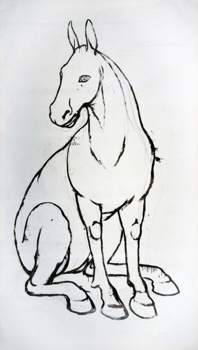 Alexander Povzner, 'Horse', 2017