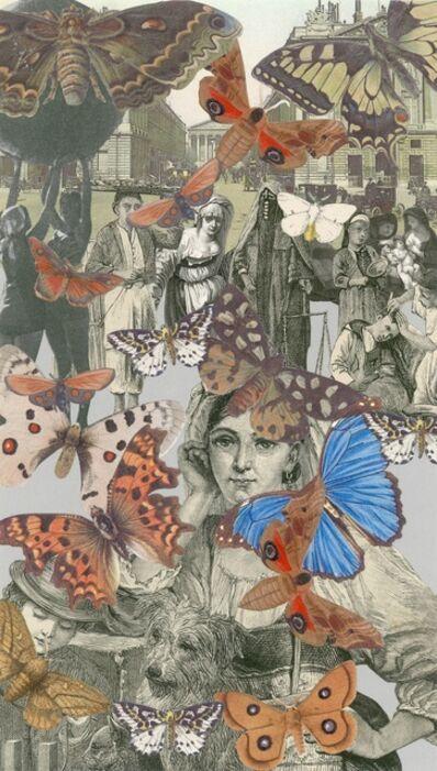 Peter Blake, 'Paris-Butterflies II', 2010