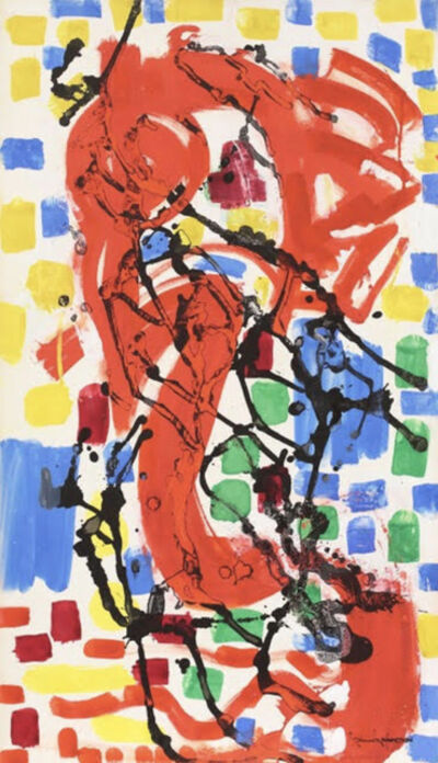 Hans Hofmann, 'Mosaic for Apartment House Sketch No. 4', 1956