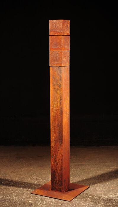 Etienne Krähenbühl, '3 Cubes Mobiles I (b)', 2010-2018