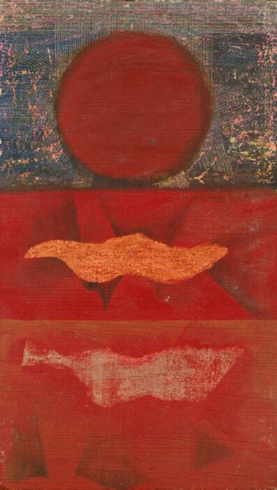 Stan VanDerBeek, 'Untitled (Landscape)', 1955