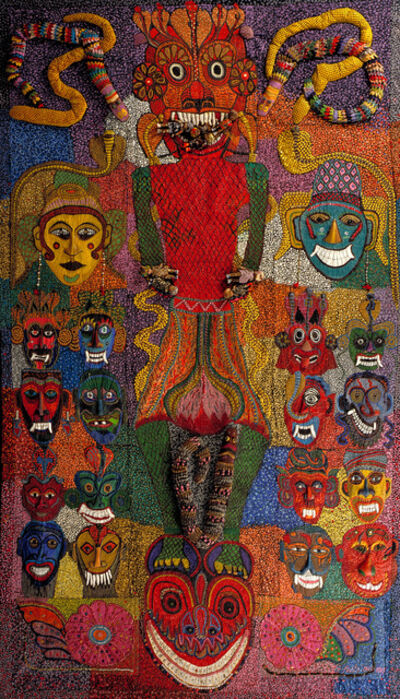 Pacita Abad, 'Marcos and His Cronies', 1985