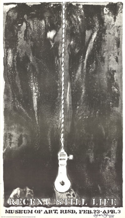 Jasper Johns, 'Recent Still Life (Light Bulb)', 1968