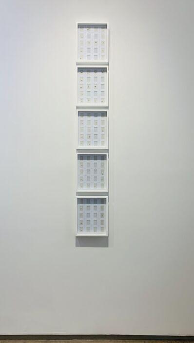 Marco Maggi, 'Stacking Vowels A, E, I, O,U', 2019