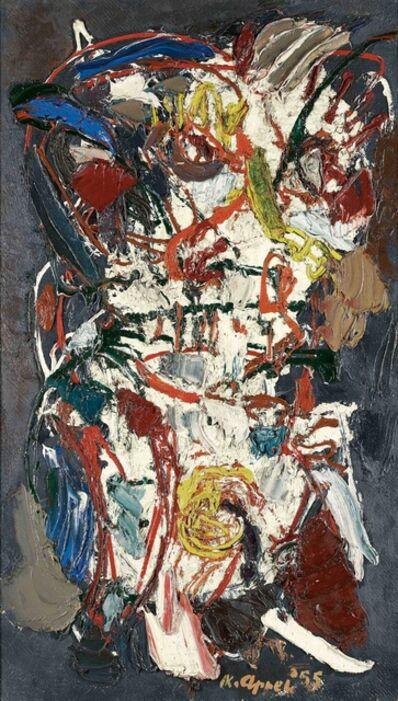 Karel Appel, 'L'homme de la terre', 1955