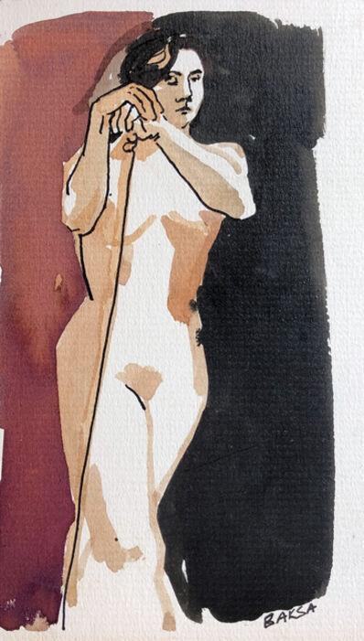 Teresa Baksa, 'Woman with Support', 1994