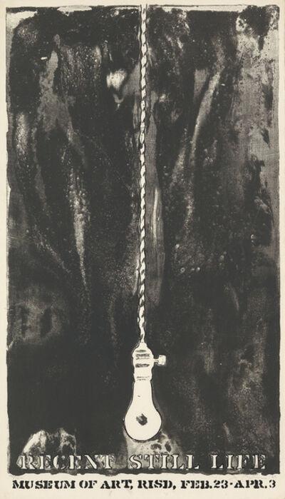 Jasper Johns, 'Recent Still Life', 1965-66