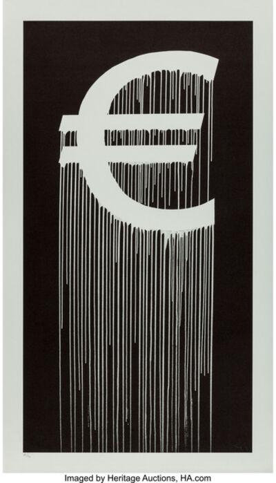Zevs, 'Liquidated Euro', 2016
