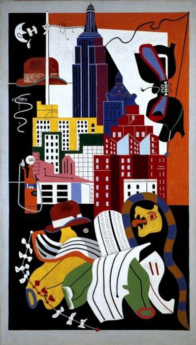 Stuart Davis, 'New York Mural', 1932