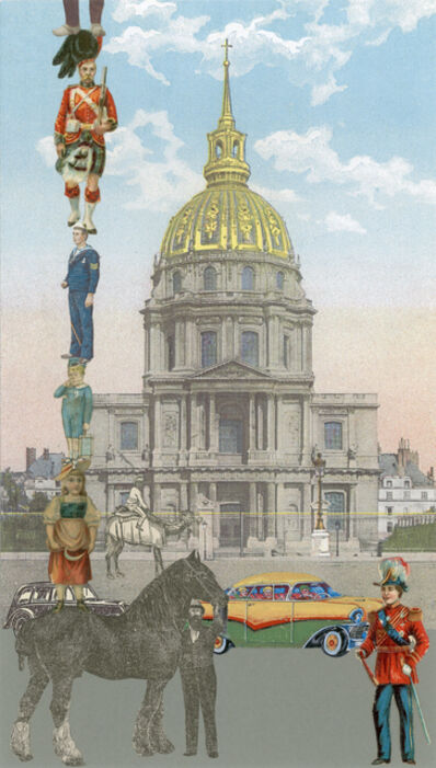 Peter Blake, 'Inkjet on canvas - Paris- 10 Man Up', 2013