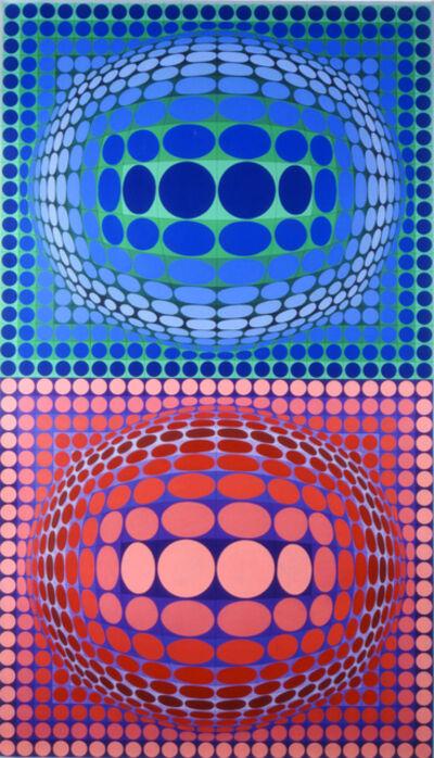 Victor Vasarely, 'BIKABI', 1988