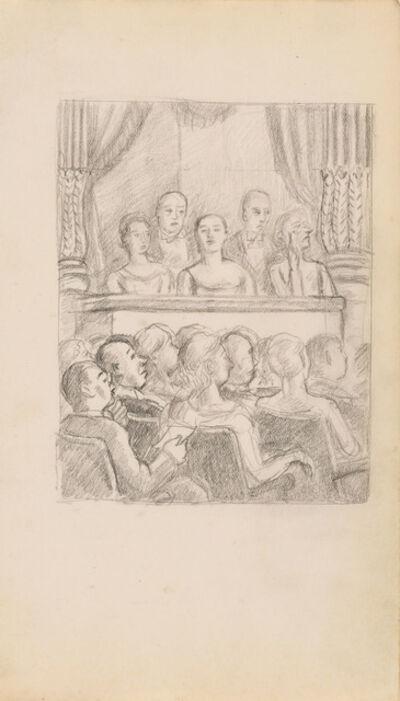 Julius Bloch, 'Opera Box (study for the print)', 1940