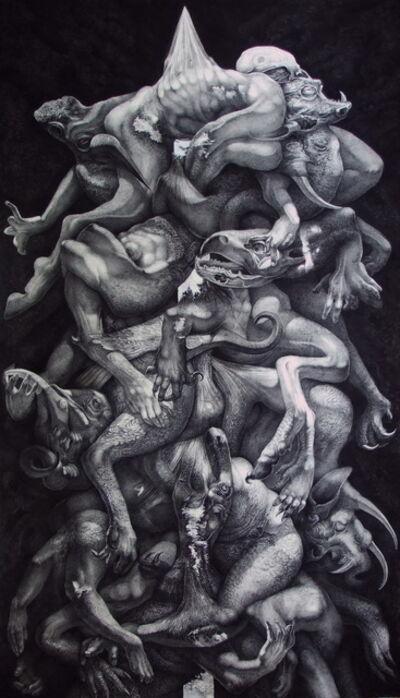 Kittisak Kaewduk, 'Reflection Society 1', 2015