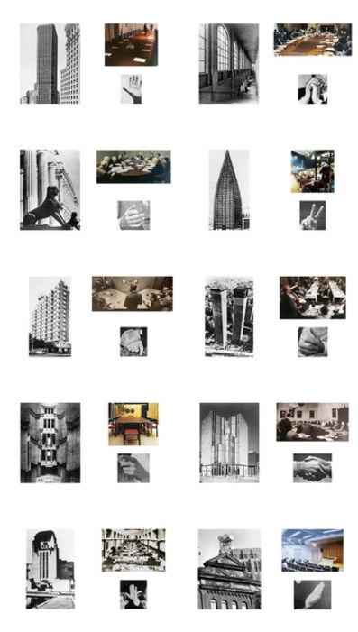 Antoni Muntadas, 'Architektur/Raüme/Gesten II', 2017