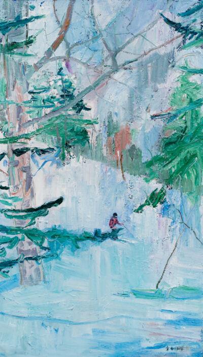 Zhang Jian 章剑, 'Skiing', 2016