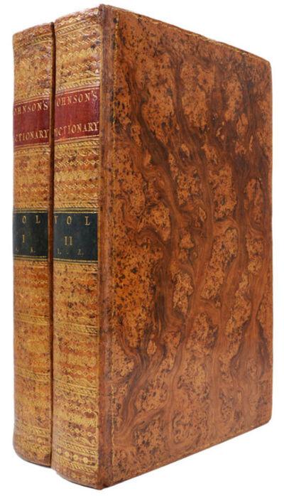 Samuel Johnson, 'A Dictionary of the English Language', 1784
