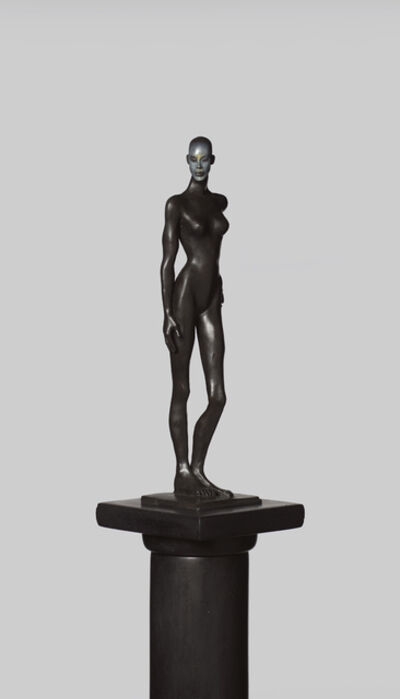 Cecilia Z. Miguez, 'Figure on a Pedestal', 2019