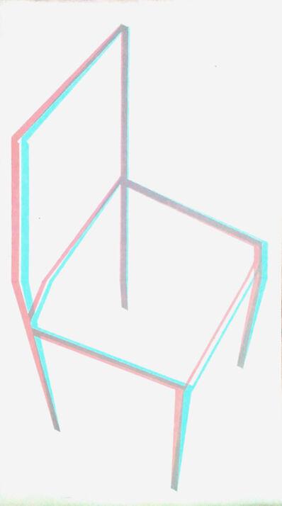 Luis Frangella, 'Sin Título (Chair)', 1979