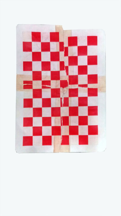 Ryan Brown, 'Three Of A Kind (Red Card)', 2019