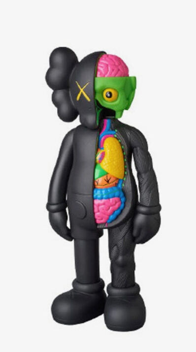 KAWS, 'Dissected Companion (black)', 2016